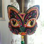 Cristina's Cat - this one reminds me of the exquisite painted folk art animal carvings from Mexico