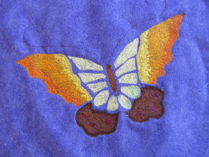 Quilt Patch Retreat - Thread Painted Butterfly