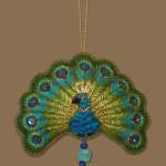 Fan style peacock