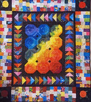 Northwest Quilters 2017 Opportunity Quilt