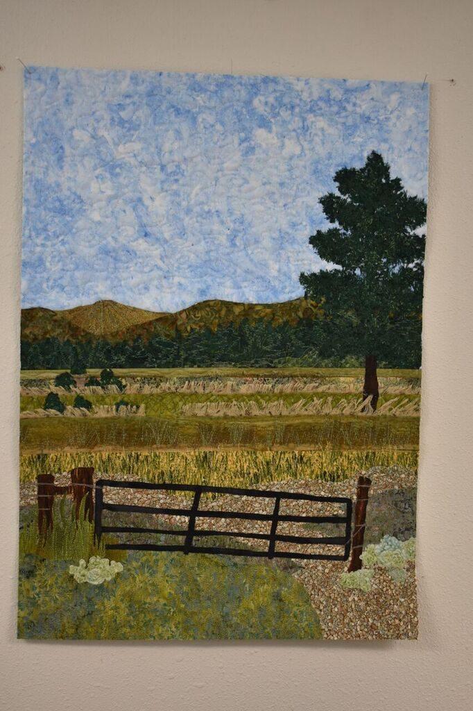 Charlotte's Landscape Quilt.